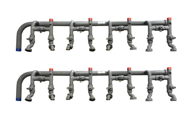 Multi-Meter Manifolds from Steel Blue Fabrication